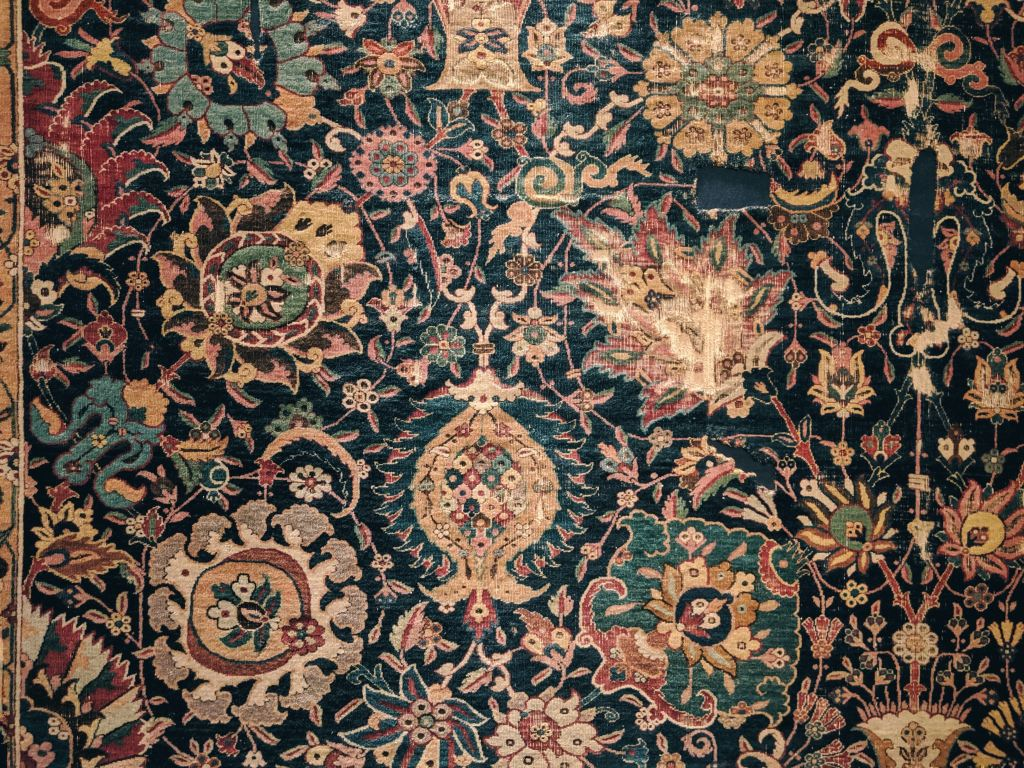 There are many different types of area rugs